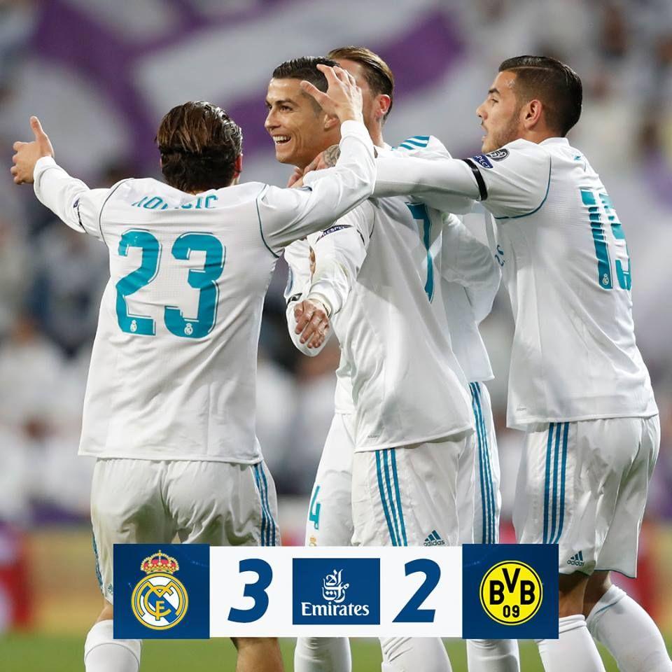 Real Madrid C.F. 32 Borussia Dortmund (Borja Mayoral 8