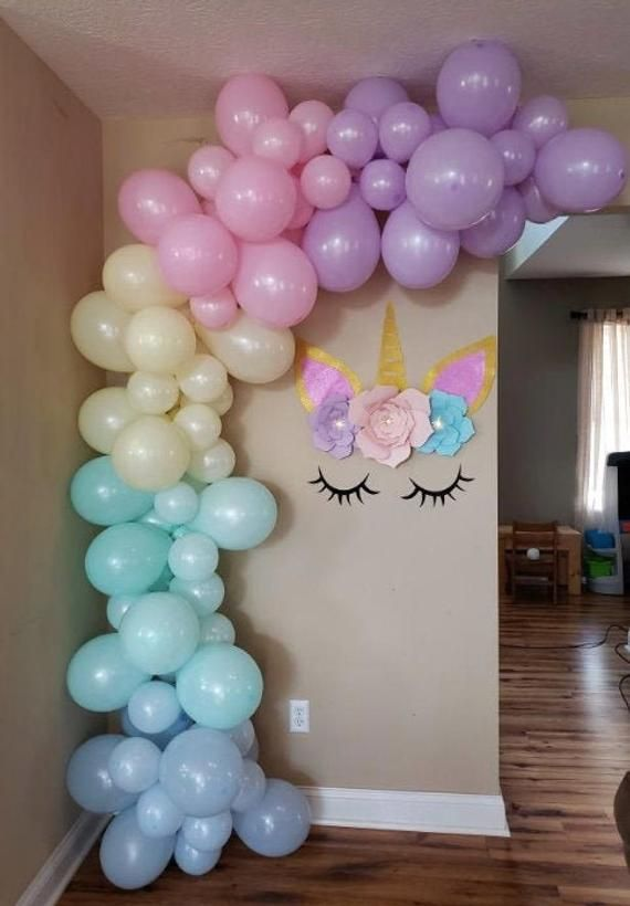 Balloon Garland Kit - Pastel Rainbow Balloon Garla