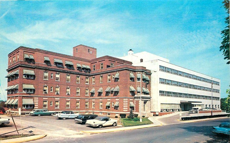 Danville, IL Lake View Memorial Hospital Old Building
