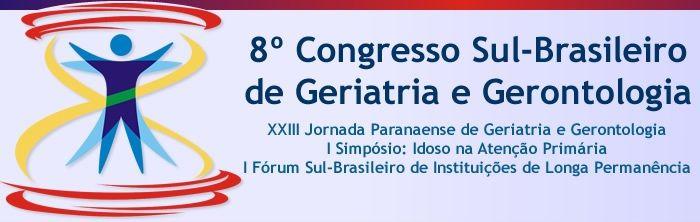 VIII Congresso Sul-Brasileiro de Geriatria e Gerontologia 2013