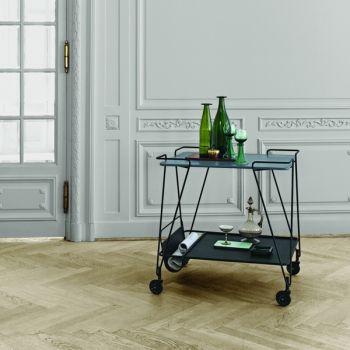 Gubi Mategot trolley, blue grey | Gubi Mategot | Tables | Furniture | Finnish Design Shop