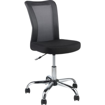 reade mesh office chair black at homebase be inspired and make