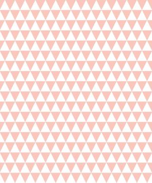 Papier peint triangle rose d co chambre enfant spoonflower - Papier peint vintage enfant ...