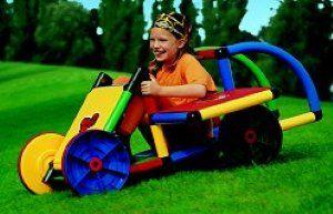 I wanna be a kid again! Basic II Quadro Adventure Playset is
