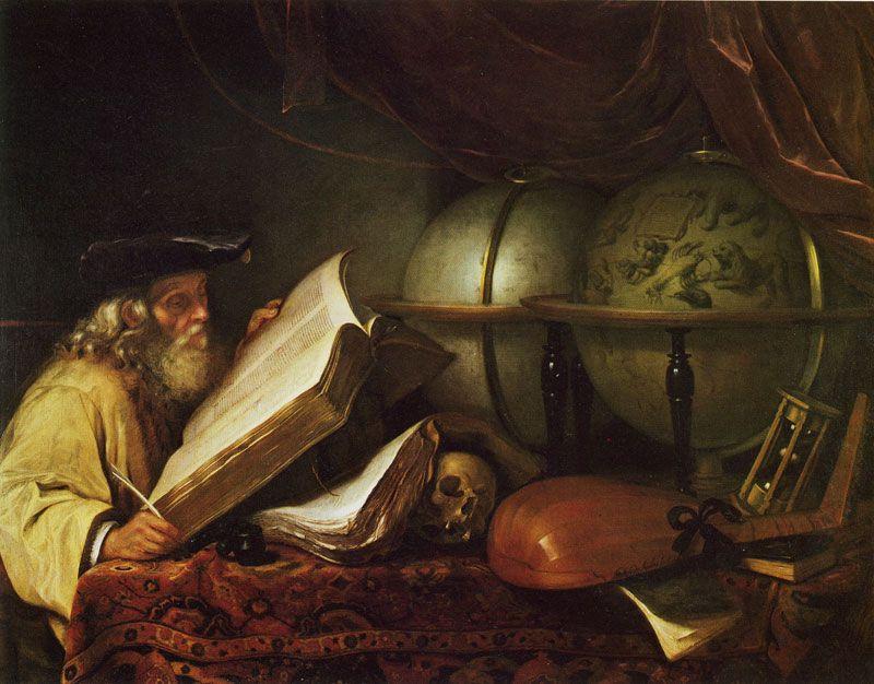 Godfrey kneller old scholar vanitas allegory matemticas y godfrey kneller old scholar vanitas allegory stopboris Images