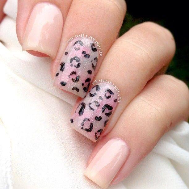 . #nailart #nails #nailart http://nailsly.com/   Leopard