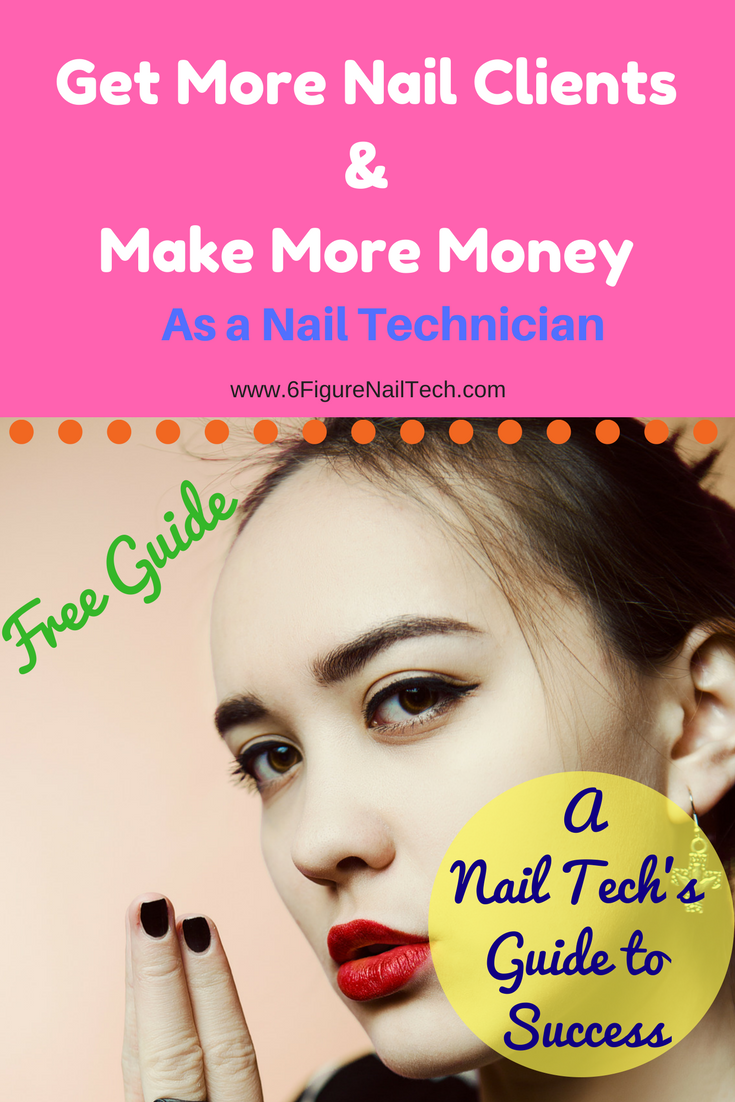 AWESOME! online guide to making more money as a nail technician! The ...