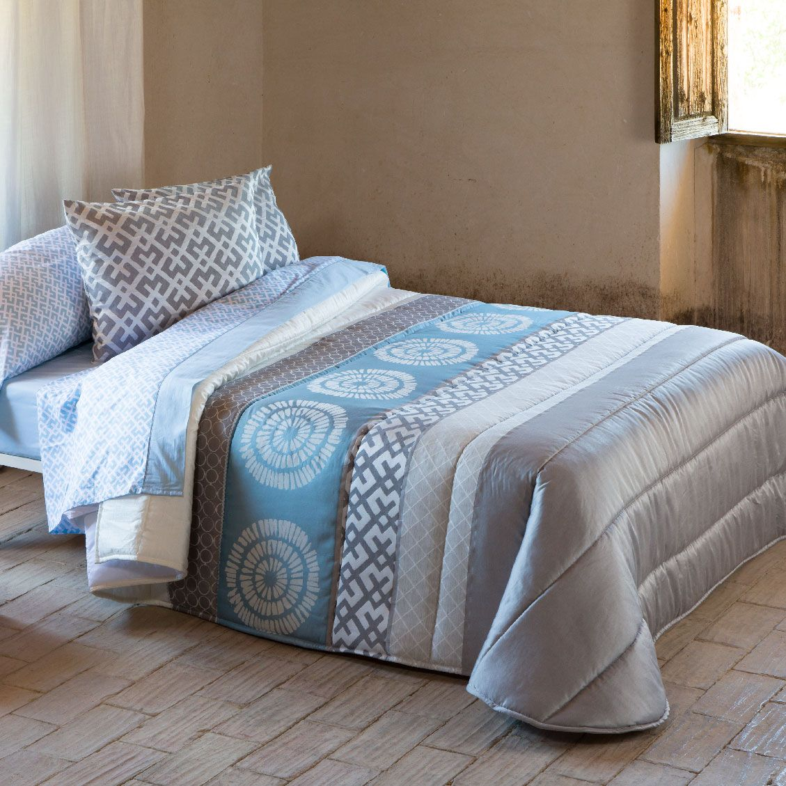 Edredon Comforter Jacquard Lazio Textil Hogar Ropa De Hogar