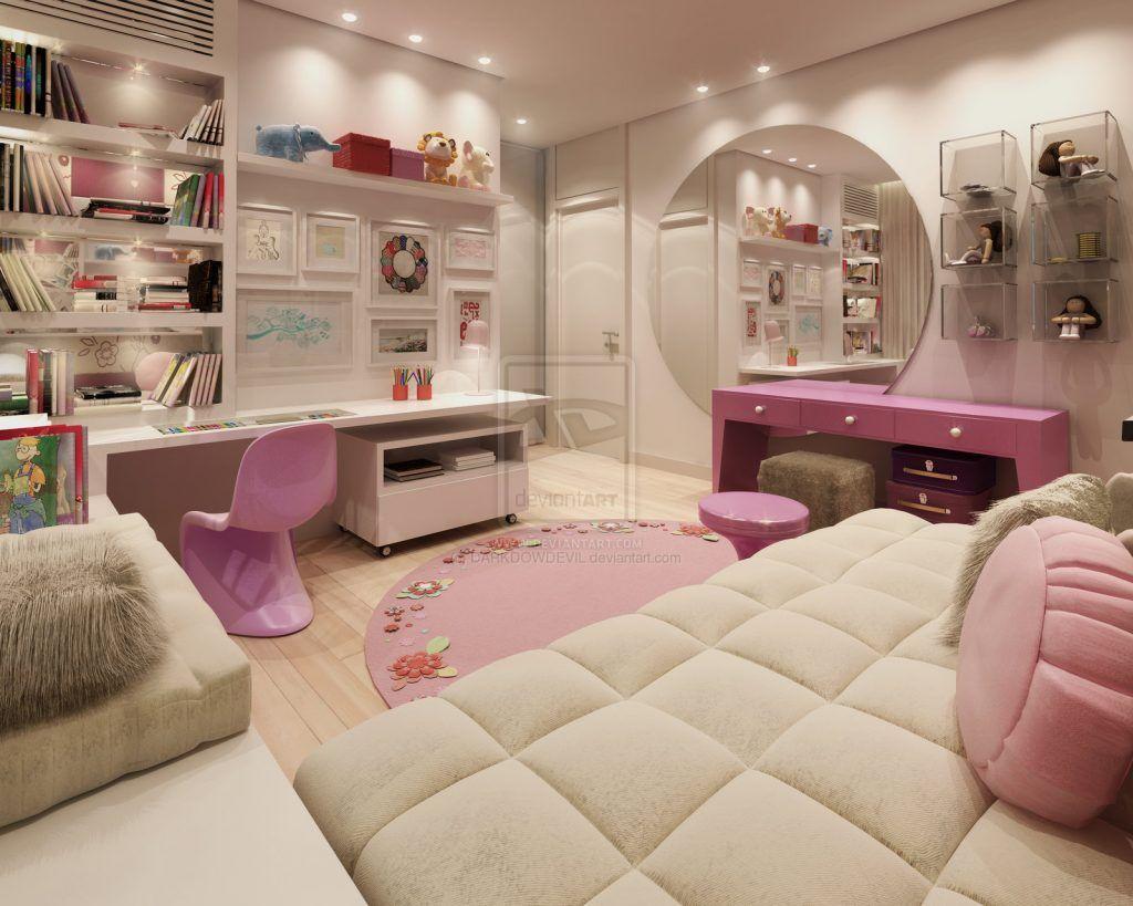 choose the modern girls bedroom furniture | teenage room