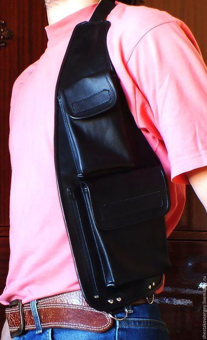 2229e602a0f8 Мужские сумки ручной работы. Ярмарка Мастеров - ручная работа. Купить Сумка-кобура  для документов. Handmade. Сумка, сумка-кобура