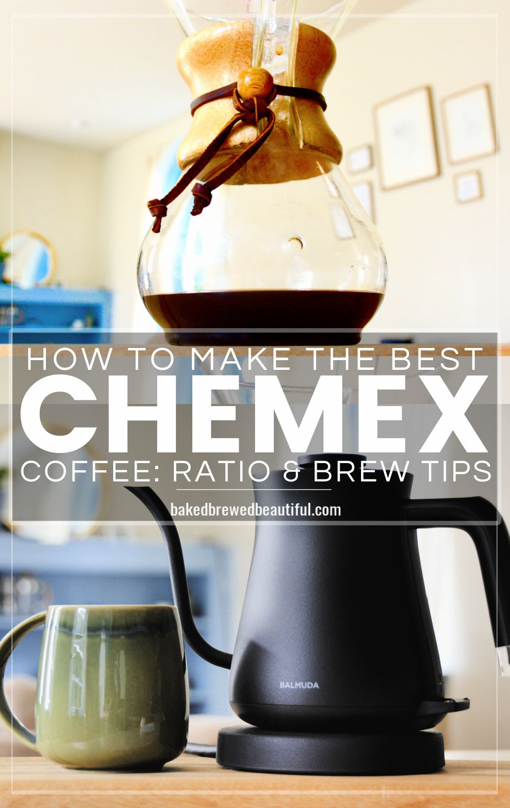 How to brew chemex find your perfect ratio chemex