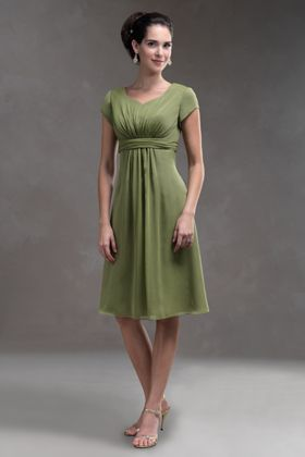 767164aa4dc Our  1 selling Short Modest Chiffon dress perfect for Mother of the Bride