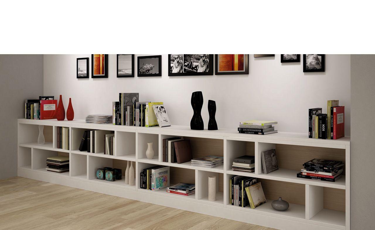 am nagement bibliotheque blanc urban oak d coration. Black Bedroom Furniture Sets. Home Design Ideas