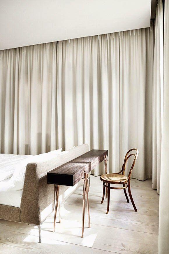 Mehr Eleganz Ins Schlafzimmer Einfach Vorhänge Rund Ums Schlafzimmer