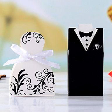 12 Piece/Set Favor Holder - Creative Card Paper Favor Boxes Non-personalised – USD $ 2.99
