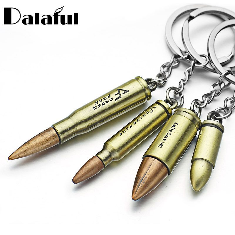 Laiton massif Keychains Clés Pendentif Porte-Clés Key Chain Holder