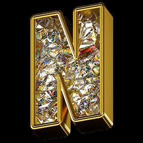 Golden Diamond Font Handmadefont Ice Cream Font Golden Diamonds Raster Image