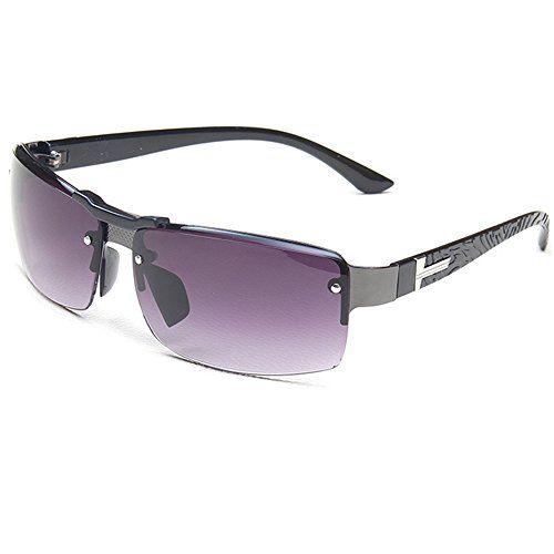 HUAYI Mens Outdoor Cool Rectangle Sunshade Sunglasses ** Check out the image by visiting the link.Note:It is affiliate link to Amazon.