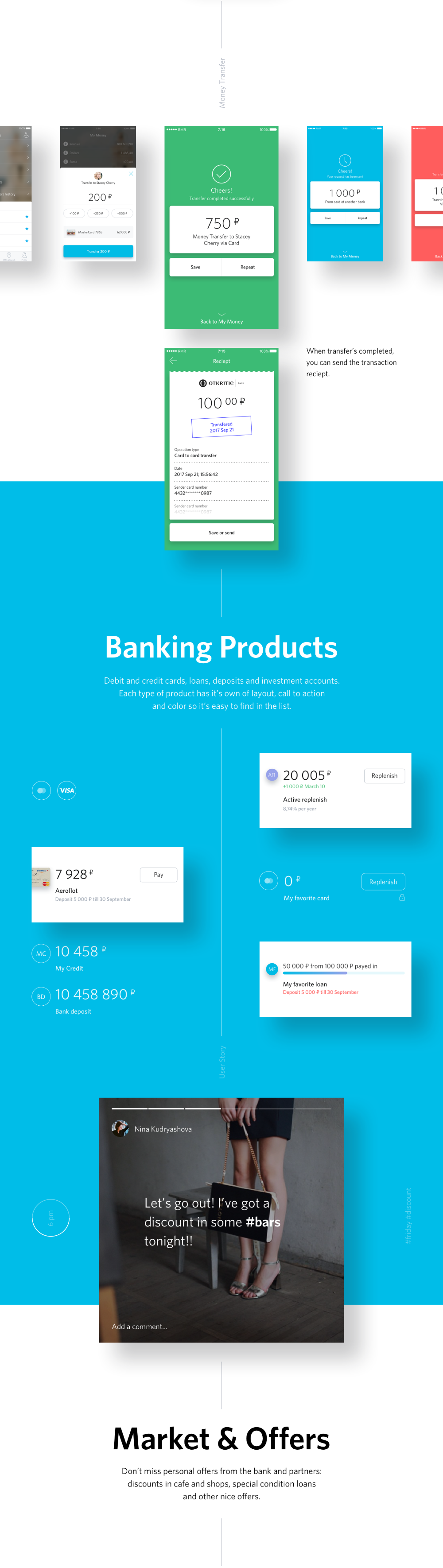 REDMADROBOT Team on Behance Banking app, Mortgage loan