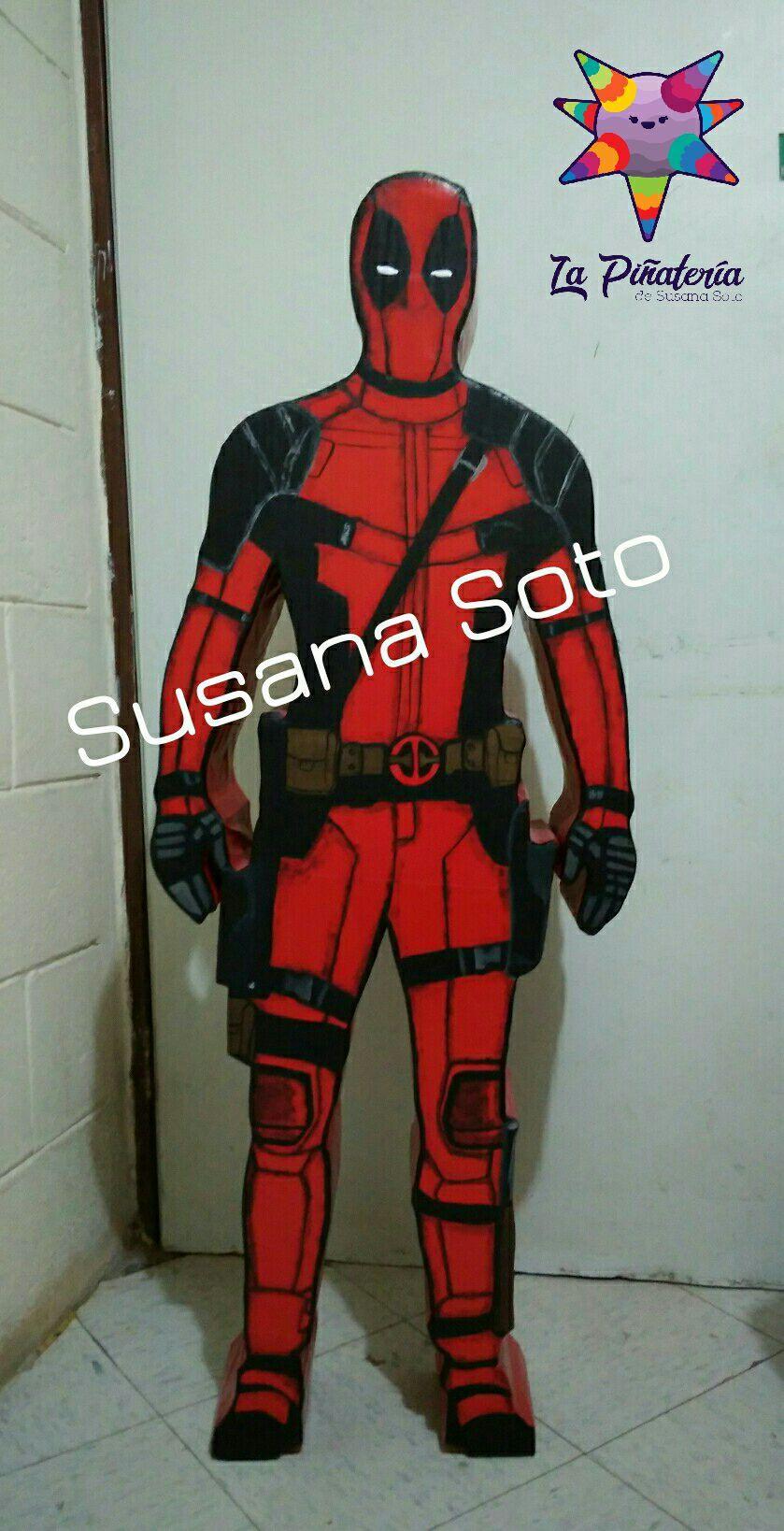 Deadpool Piñatas Piñata Deadpool