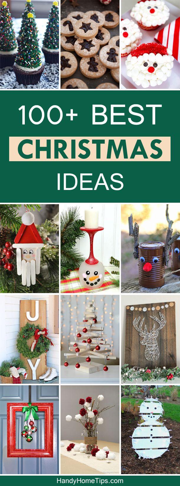 100+ Best Christmas Ideas - Gifts, Recipes & Decor | Christmas ...