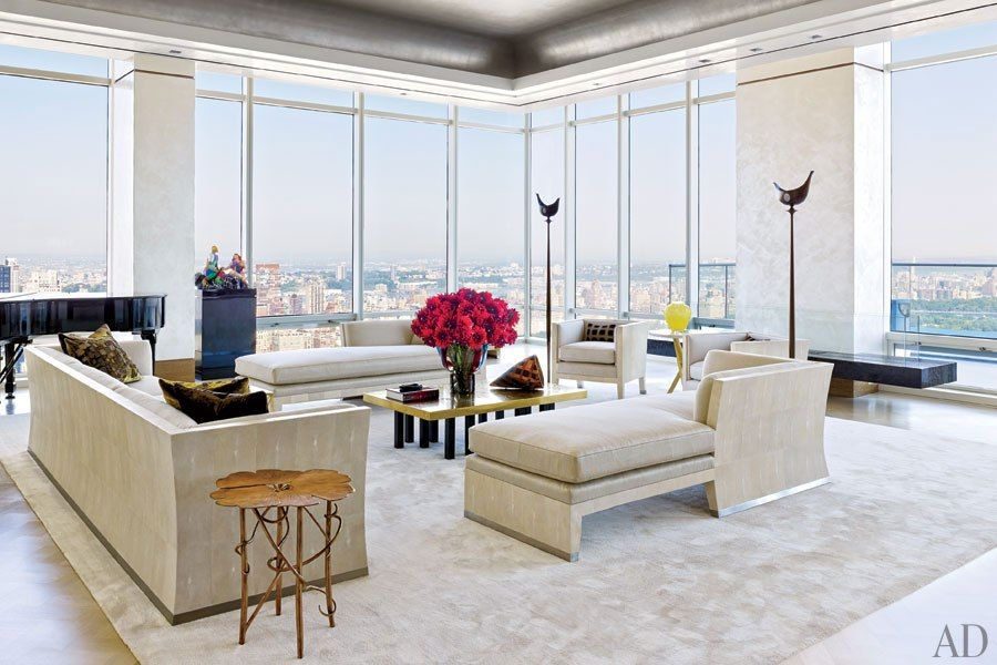 this modern new york penthouse features panoramic views and sophisticated decor new york apartmentsmodern apartmentsmanhattan - Manhattan Penthouse Apartments