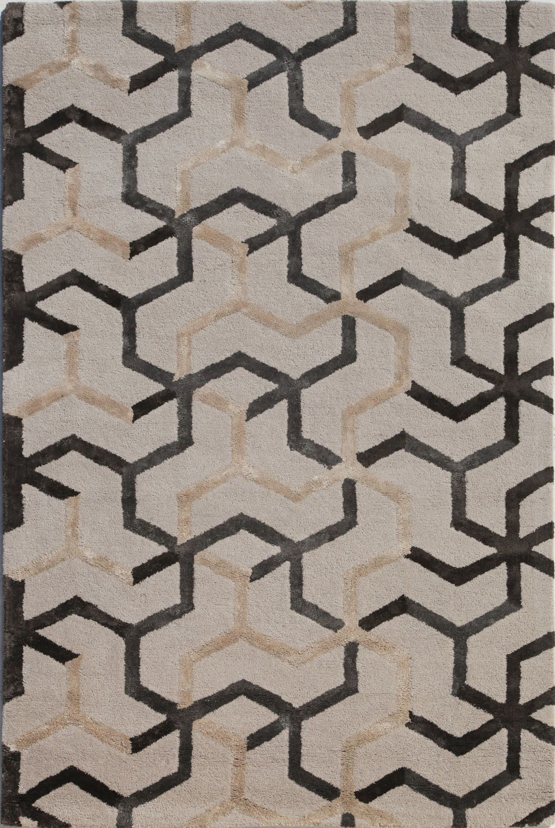 Ivory Gray Area Rug Geometric Area Rug Grey Area Rug Area Rug Collections