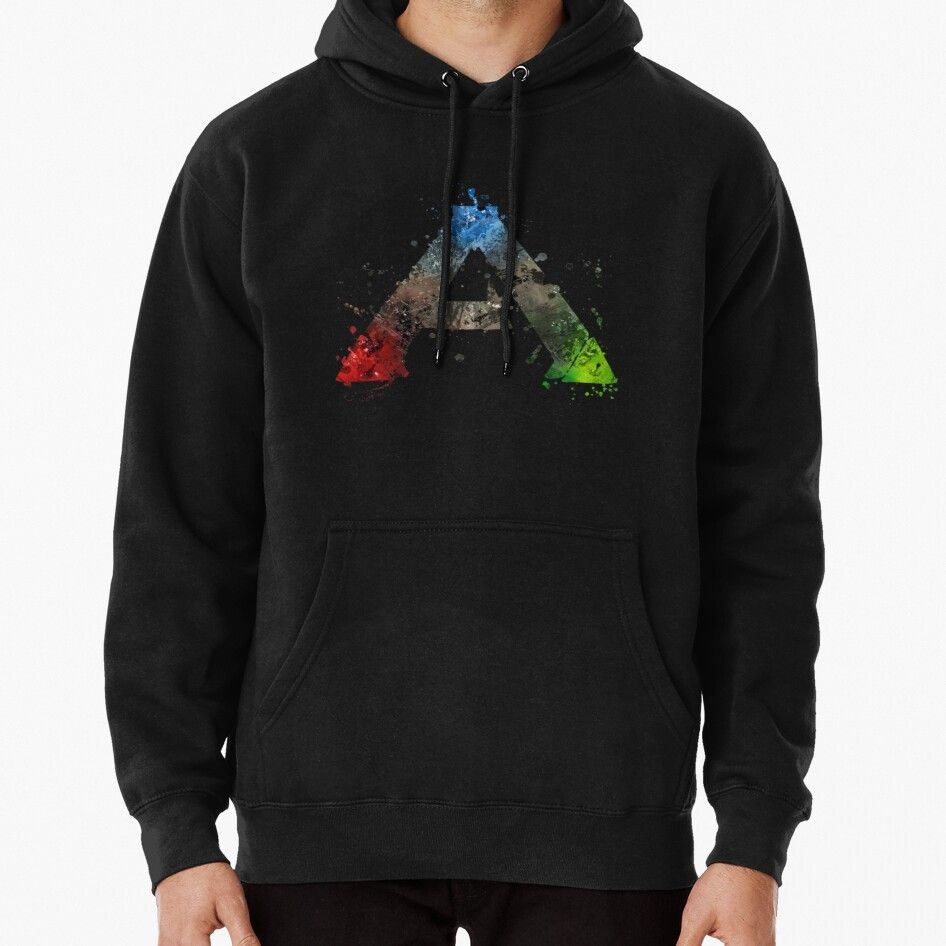 Ark Survival Evolved Splatter Pullover Hoodie In 2020 With Images