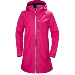 Photo of Helly Hansen Woherr Long Belfast Rain Winter Jacket Pink L