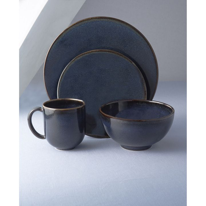 Jars Tourron Indigo Dinnerware | Gracious Style  sc 1 st  Pinterest & Jars Tourron Indigo Dinnerware | Gracious Style | Table Settings ...