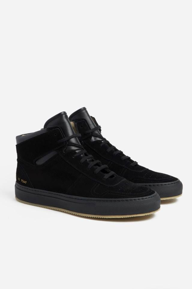 Common Projects Basketball High Suede