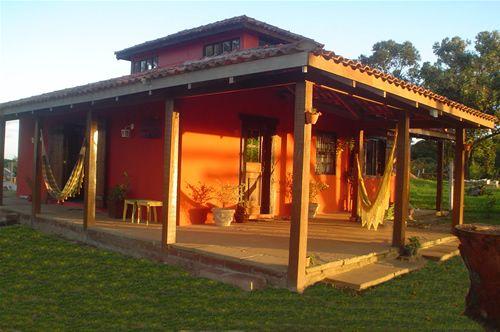 Casas de sitio com varanda