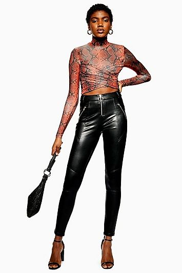 d21fee1e842650 TALL Faux Leather Trousers in 2019 | Products | Leather trousers ...