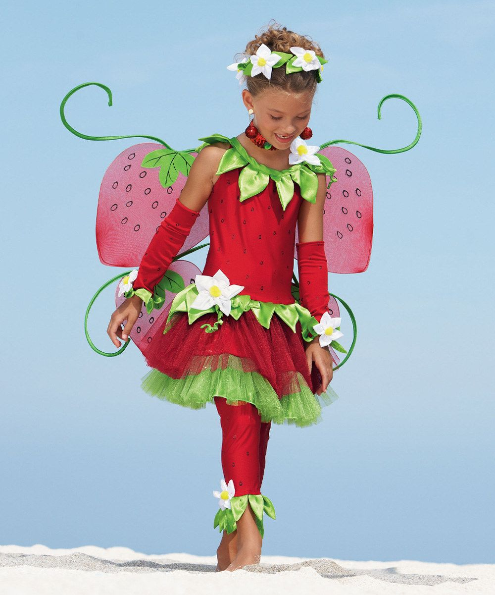 Look what I found on #zulily! Strawberry Fairy Dress - Toddler & Girls by chasing fireflies #zulilyfinds