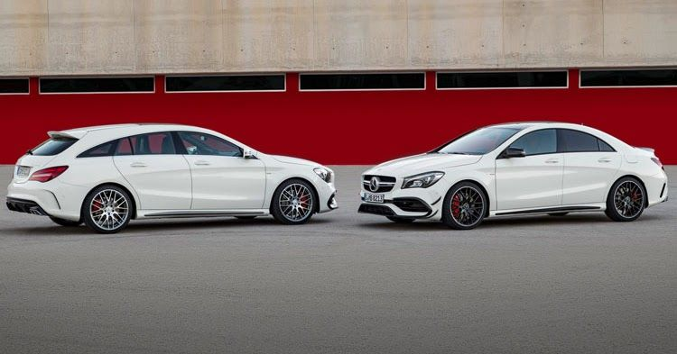 Refreshed Mercedes Cla Coupe And Shooting Brake Available For