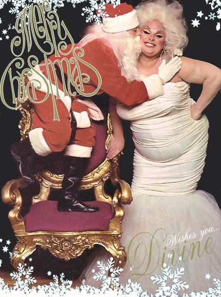 Divine wishes you... Merry Christmas! Photo: Bill Bernardo