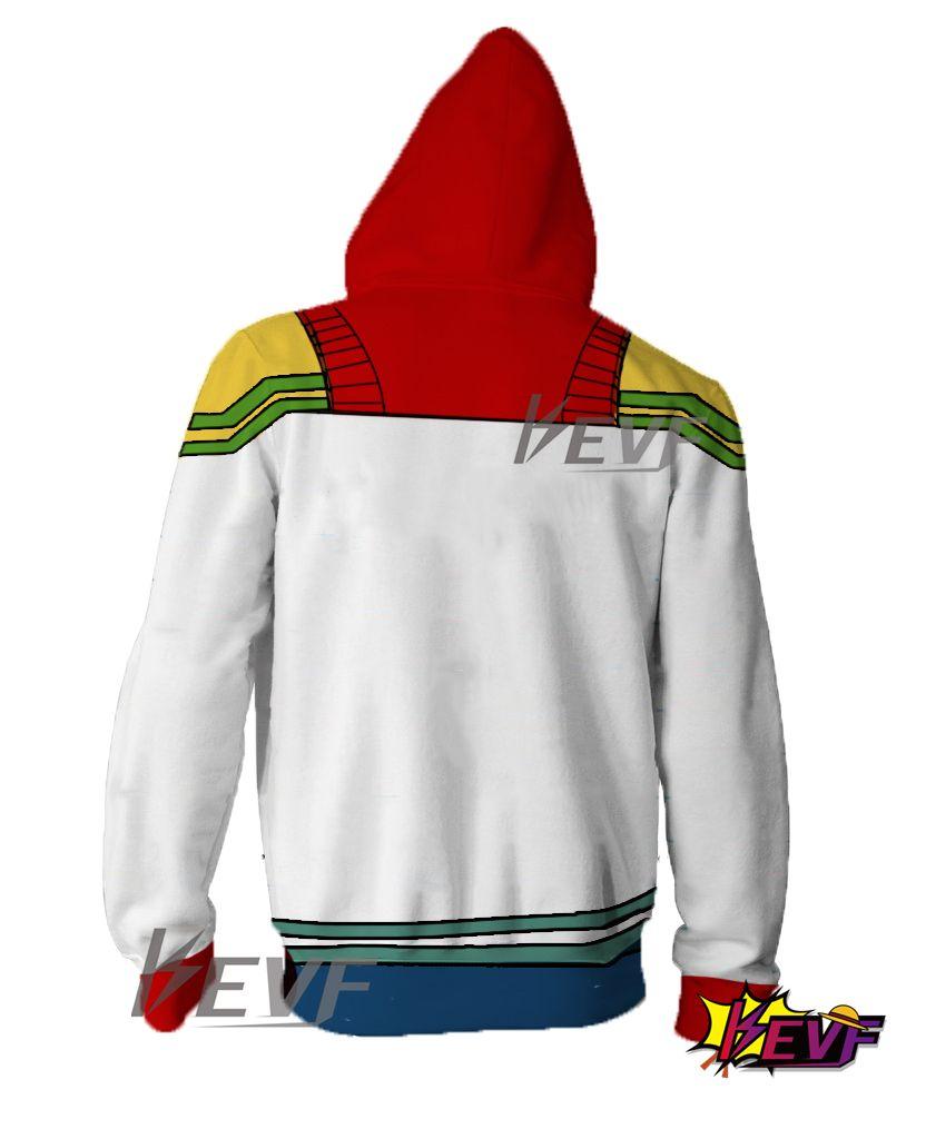 My Boku no Hero Academia All Might Yagi Toshinori Zip Hoodie Sweatshirt Jacket
