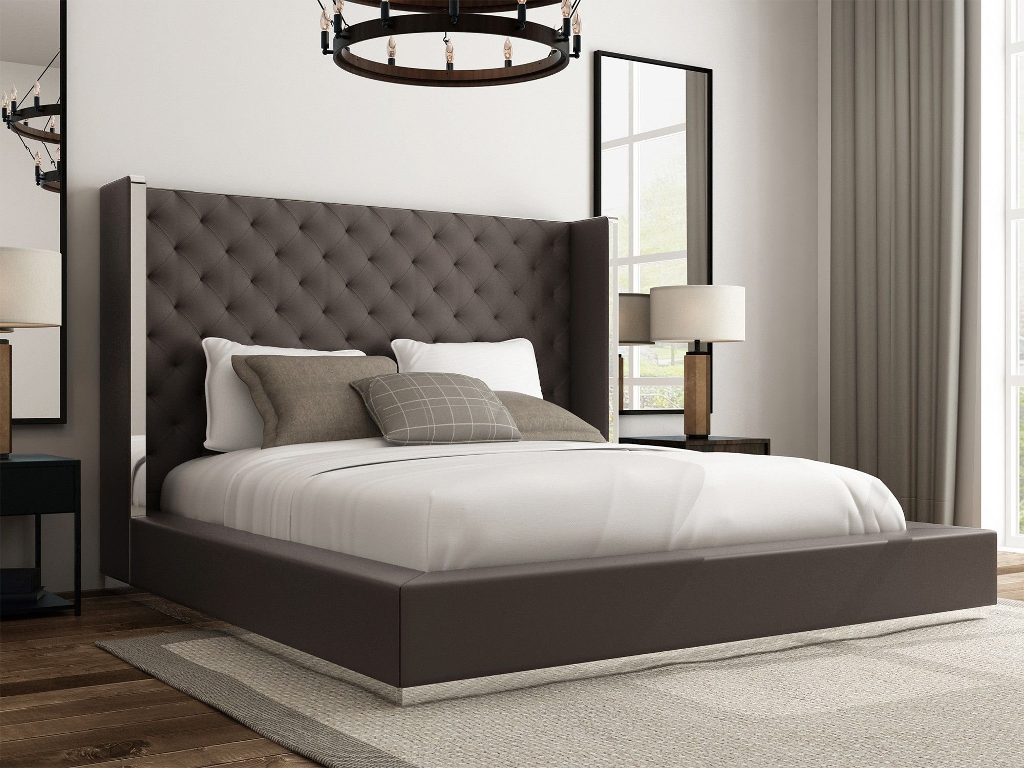 Pin by Carina on Bedroom Modern platform bed, Bed, King beds