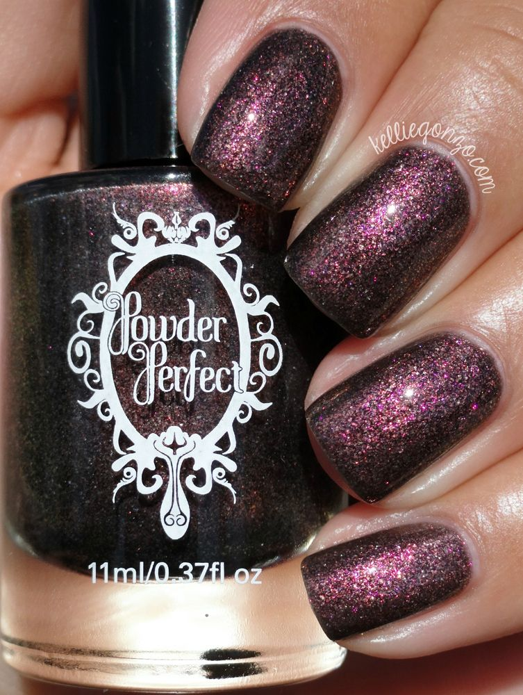 Powder Perfect Maid Marian // kelliegonzoblog Nail