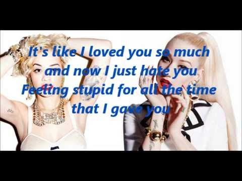 Iggy Azalea And Rita Ora Black Widow Lyrics
