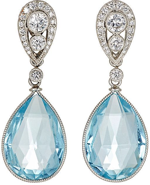 Womens Mixed-Gemstone Double-Drop Earrings McTeigue & McClelland IOt1x