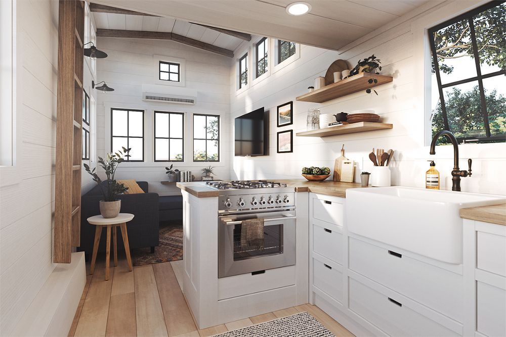 Millennial-friendly tiny houses come preloaded with amenities [Updated]
