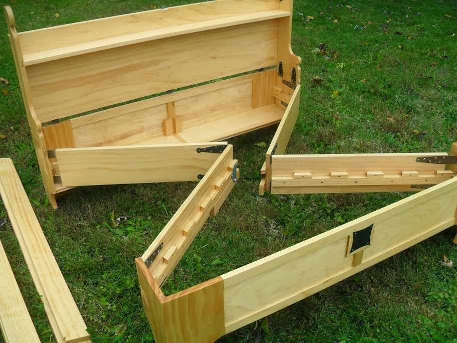 Best Off The Reservation Homemade Wooden Bed Frame Tz Stuff 640 x 480