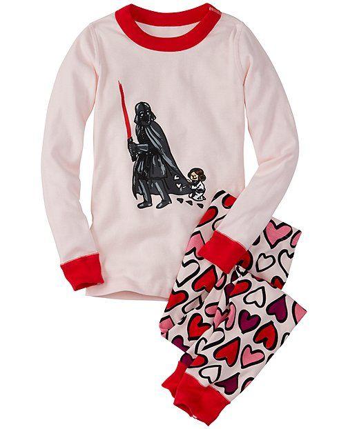 977851a20 Star Wars™ Long John Pajamas In Organic Cotton from  HannaAndersson ...