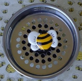 48 HR Ship BUMBLE BEE Stainless Steel Kitchen By FunSinkStrainers 695