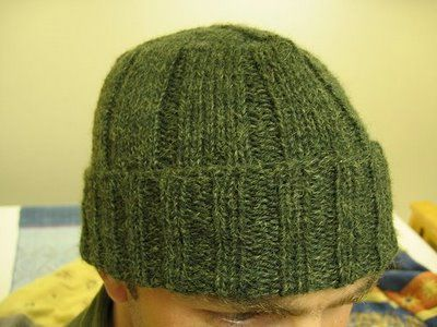 Cool Man Knit Hat Pattern Careful Not To Use Too Big Needles Or