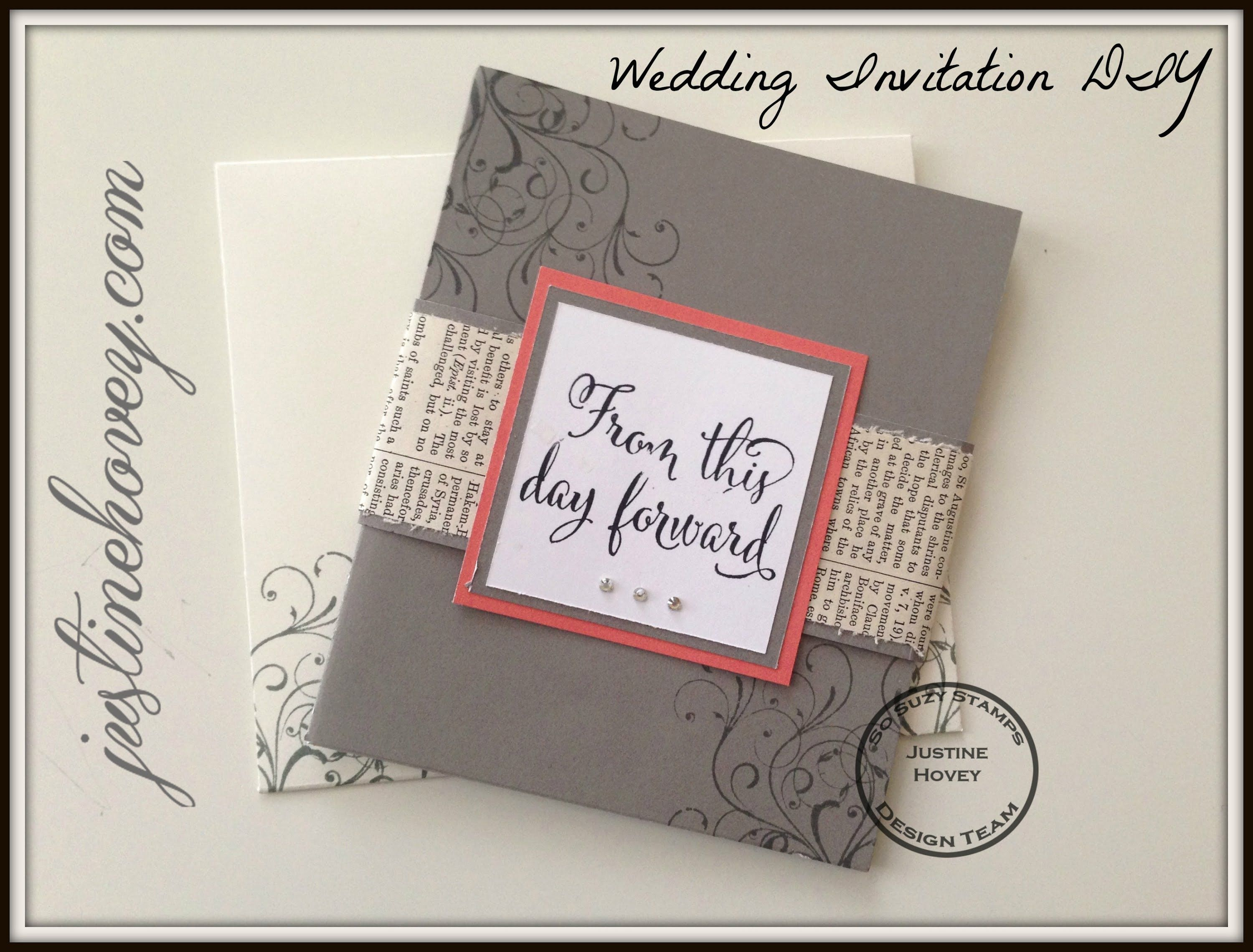 Easy Diy Handmade Wedding Invitations How To Easy Diy Wedding Invitations Diy Wedding Invitations Templates Homemade Wedding Invitations