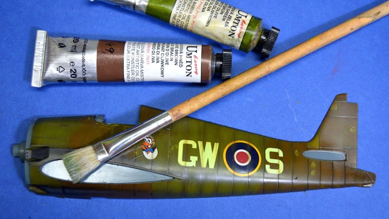 Painting plastic models with brushes - Oil paints - Great Guide ...