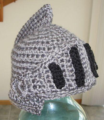 Sir Knight Helmet - CROCHET pattern by Martina Gardner ...