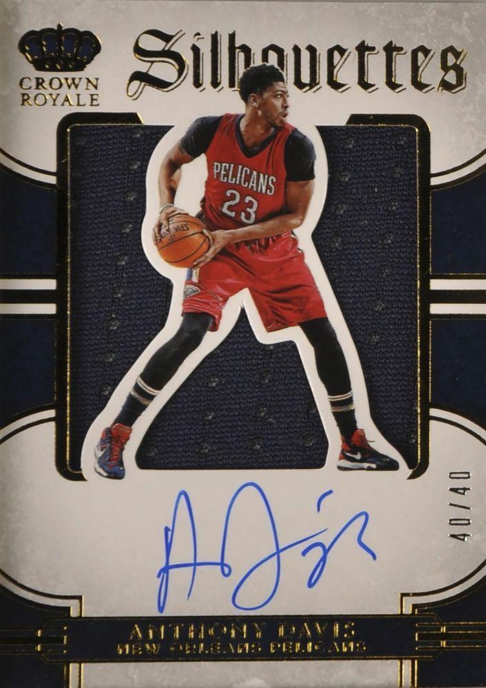 Anthony Davis New Orleans Pelicans Autographed 2015 16